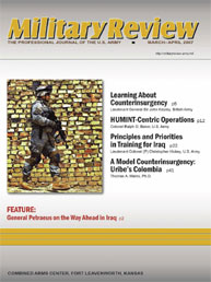 Miltary Review : March-April 2007 Volume March-April 2007 by Smith, John J.