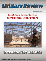Miltary Review : Interagency Reader Spec... Volume Interagency Reader Special Edition; 2008 by Smith, John J.