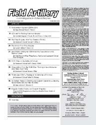 The Field Artillery Journal : November-D... Volume November-December 2005 by Hollis, Patrecia Slayden