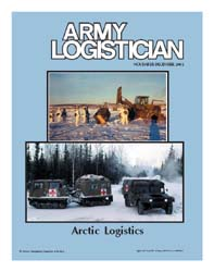 Army Logistician; November-December 2002 Volume 34, Issue 6 by Heretick, Janice W.
