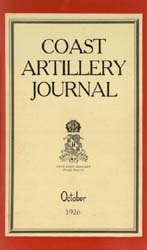Coast Artillery Journal; October 1926 Volume 65, Issue 4 by Clark, F. S.