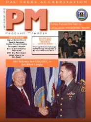Program Manager Magazine : July-August 2... Volume July-August 2001 by Johnson, Collie