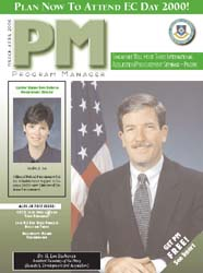 Program Manager Magazine : March-April 2... Volume March-April 2000 by Johnson, Collie