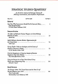 Strategic Studies Quarterly : Volume 3, ... by Guillot, W. Michael
