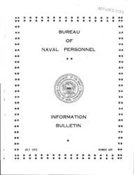 All Hands : Bureau of Naval Personnel In... Volume 21, Issue 240 by Navy Department, Bureau of Navigation