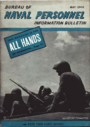 All Hands : Bureau of Naval Personnel In... Volume 23, Issue 262 by Navy Department, Bureau of Navigation
