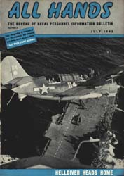 All Hands; July 1945 Volume 24, Issue 276 by Navy Department, Bureau of Navigation