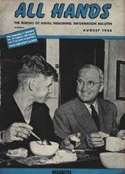 All Hands; August 1945 Volume 24, Issue 277 by Navy Department, Bureau of Navigation