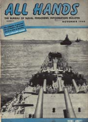 All Hands; November 1945 Volume 24, Issue 280 by Navy Department, Bureau of Navigation