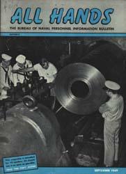 All Hands; September 1949 Volume 28, Issue 326 by Navy Department, Bureau of Navigation