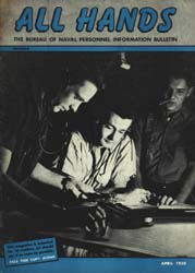 All Hands; April 1950 Volume 29, Issue 333 by Navy Department, Bureau of Navigation