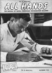 All Hands; November 1950 Volume 29, Issue 340 by Navy Department, Bureau of Navigation
