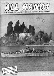 All Hands; February 1951 Volume 30, Issue 343 by Navy Department, Bureau of Navigation