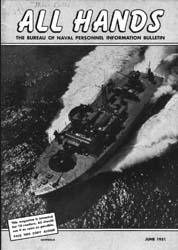 All Hands; June 1951 Volume 30, Issue 347 by Navy Department, Bureau of Navigation