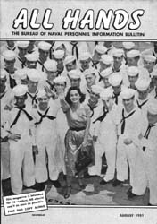All Hands; August 1951 Volume 30, Issue 349 by Navy Department, Bureau of Navigation