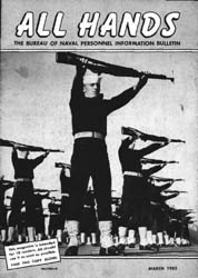All Hands; March 1952 Volume 31, Issue 356 by Navy Department, Bureau of Navigation