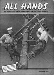 All Hands; November 1952 Volume 31, Issue 364 by Navy Department, Bureau of Navigation