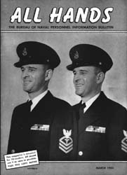 All Hands; March 1953 Volume 32, Issue 368 by Navy Department, Bureau of Navigation