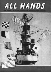 All Hands; October 1953 Volume 32, Issue 375 by Navy Department, Bureau of Navigation