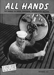 All Hands; November 1953 Volume 32, Issue 376 by Navy Department, Bureau of Navigation