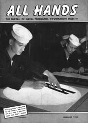 All Hands; January 1954 Volume 33, Issue 378 by Navy Department, Bureau of Navigation