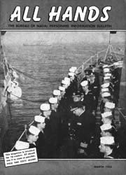 All Hands; March 1954 Volume 33, Issue 380 by Navy Department, Bureau of Navigation