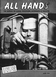 All Hands; June 1954 Volume 33, Issue 383 by Navy Department, Bureau of Navigation