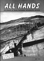 All Hands; July 1954 Volume 33, Issue 384 by Navy Department, Bureau of Navigation