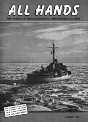 All Hands; October 1954 Volume 33, Issue 387 by Navy Department, Bureau of Navigation