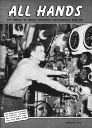 All Hands; January 1955 Volume 34, Issue 390 by Navy Department, Bureau of Navigation
