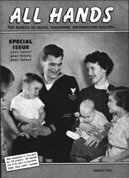 All Hands; March 1955 Volume 34, Issue 392 by Navy Department, Bureau of Navigation