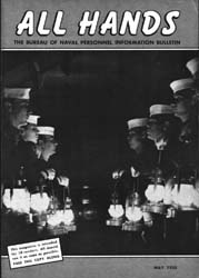 All Hands; May 1955 Volume 34, Issue 394 by Navy Department, Bureau of Navigation