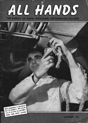 All Hands; December 1955 Volume 34, Issue 401 by Navy Department, Bureau of Navigation