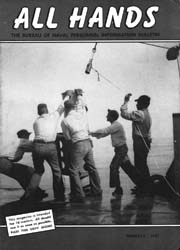 All Hands; February 1957 Volume 36, Issue 415 by Navy Department, Bureau of Navigation