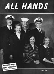 All Hands; May 1957 Volume 36, Issue 418 by Navy Department, Bureau of Navigation