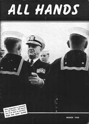 All Hands; March 1958 Volume 37, Issue 428 by Navy Department, Bureau of Navigation