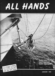 All Hands; January 1959 Volume 38, Issue 438 by Navy Department, Bureau of Navigation