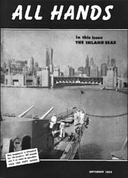 All Hands; September 1959 Volume 38, Issue 446 by Navy Department, Bureau of Navigation