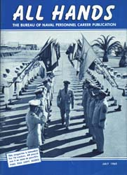 All Hands; July 1963 Volume 42, Issue 492 by Navy Department, Bureau of Navigation