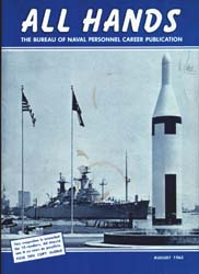 All Hands; August 1963 Volume 42, Issue 493 by Navy Department, Bureau of Navigation