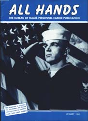 All Hands; January 1964 Volume 43, Issue 498 by Navy Department, Bureau of Navigation