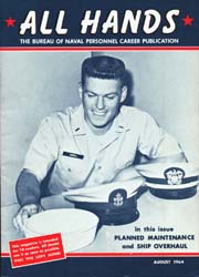 All Hands; August 1964 Volume 43, Issue 505 by Navy Department, Bureau of Navigation