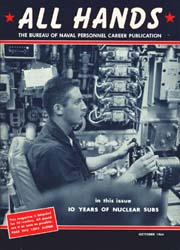 All Hands; October 1964 Volume 43, Issue 507 by Navy Department, Bureau of Navigation