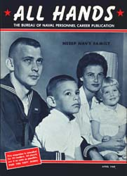 All Hands; April 1965 Volume 44, Issue 513 by Navy Department, Bureau of Navigation