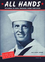 All Hands; August 1965 Volume 44, Issue 517 by Navy Department, Bureau of Navigation