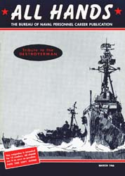 All Hands; March 1966 Volume 45, Issue 524 by Navy Department, Bureau of Navigation