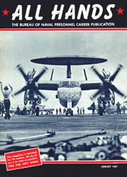 All Hands; August 1967 Volume 46, Issue 541 by Navy Department, Bureau of Navigation
