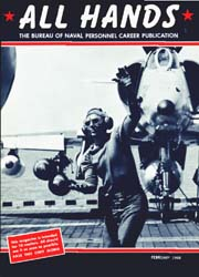 All Hands; February 1968 Volume 47, Issue 547 by Navy Department, Bureau of Navigation