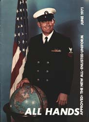 All Hands; June 1971 Volume 50, Issue 587 by Navy Department, Bureau of Navigation