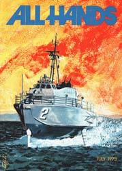 All Hands; July 1973 Volume 52, Issue 612 by Navy Department, Bureau of Navigation